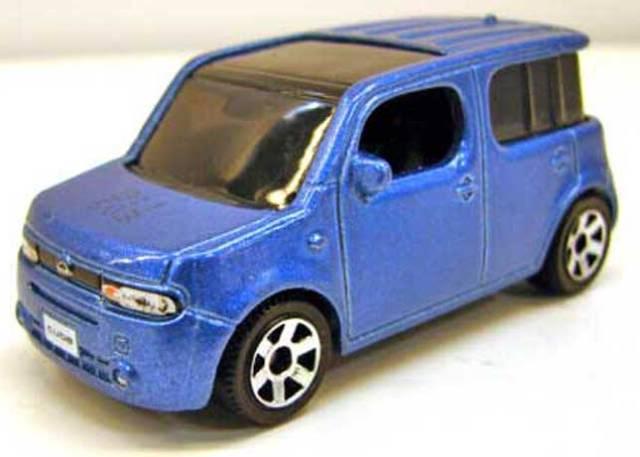 Matchbox 2011 Abril Report - Nissan Cube, Ford Taurus Interceptor y más NissanCubepic1