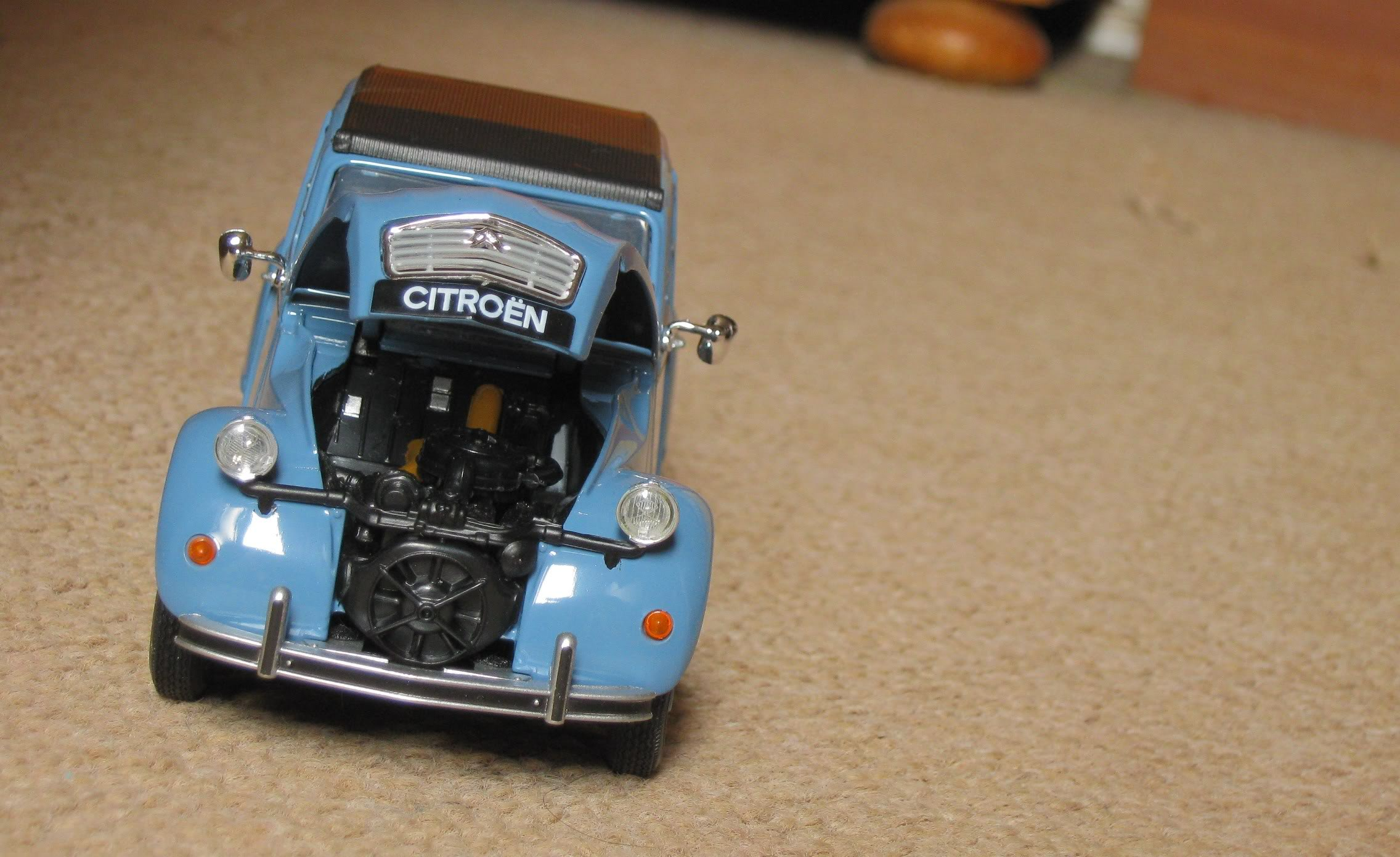 Welly 1/24: Citroën 2CV Welly124Citron2CV3