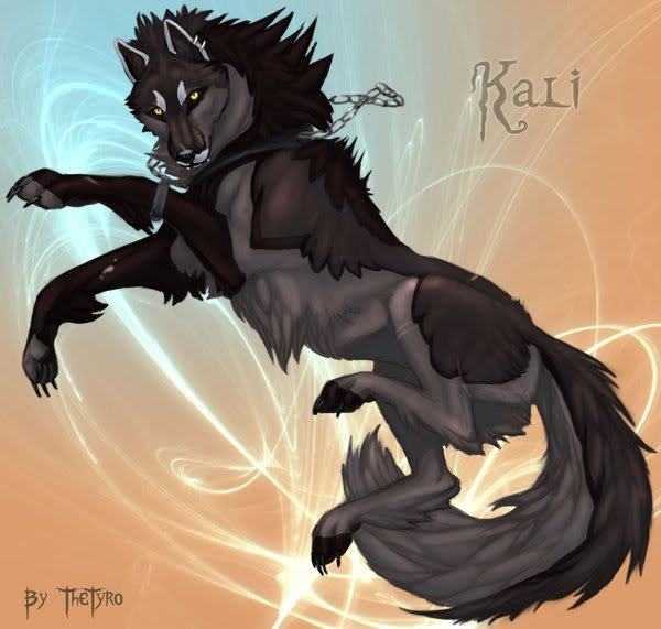 new pack members :O Kali_Wolf_Comish_by_TheTyro