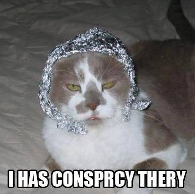 DooDoo, your brother has been found. Tinfoil-hat