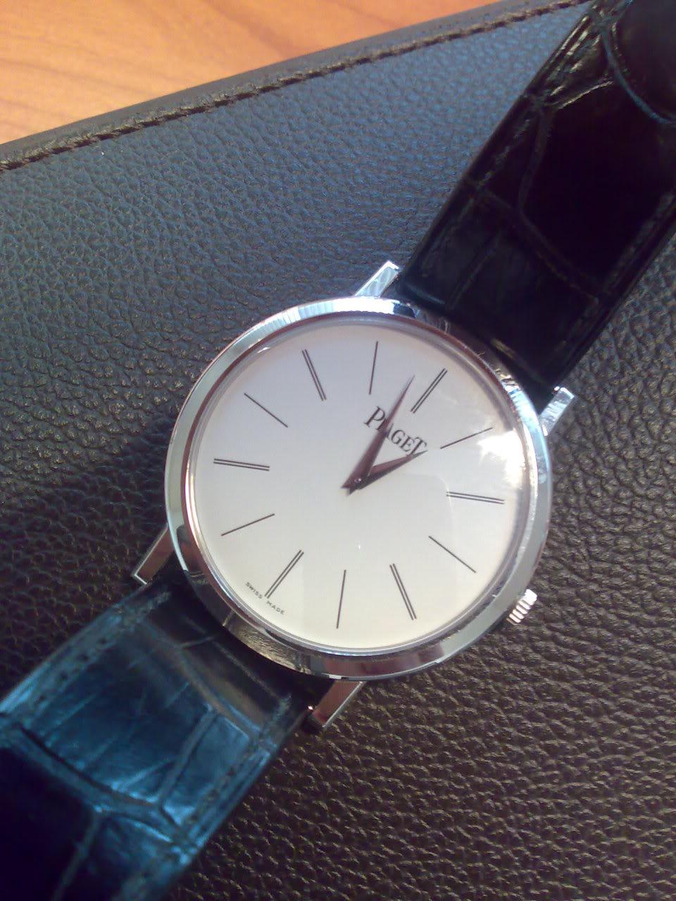 Les montres plates ... 05102009287