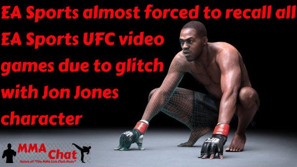 EA Sports almost forced to recall all EA Sports UFC video games JonJonesEASports_zpsb60b7bea