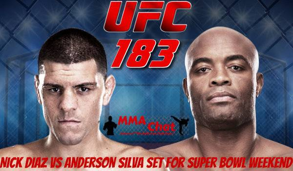 Nick Diaz vs Anderson Silva set for Super Bowl weekend. YDZ1M7ubQTzF_zpsefcdc61a