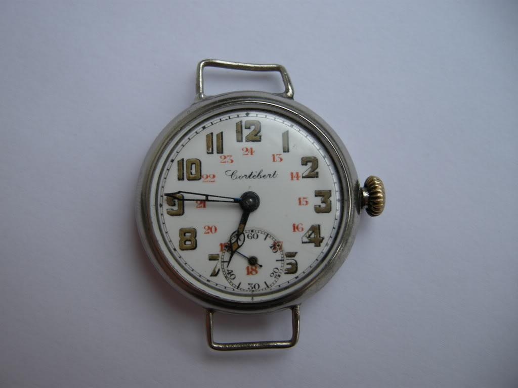 Révision d'une montre de poilu Cortébert DSCN0650