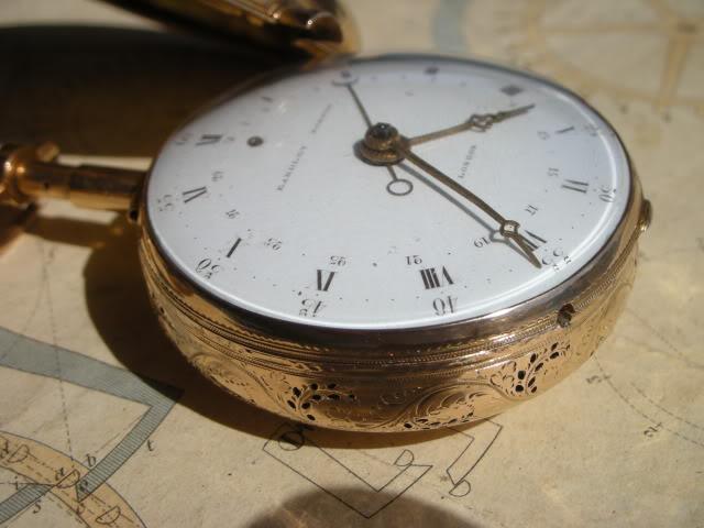 cloche - Restauration complète d'une montre à sonnerie sur cloche en images  Cadran