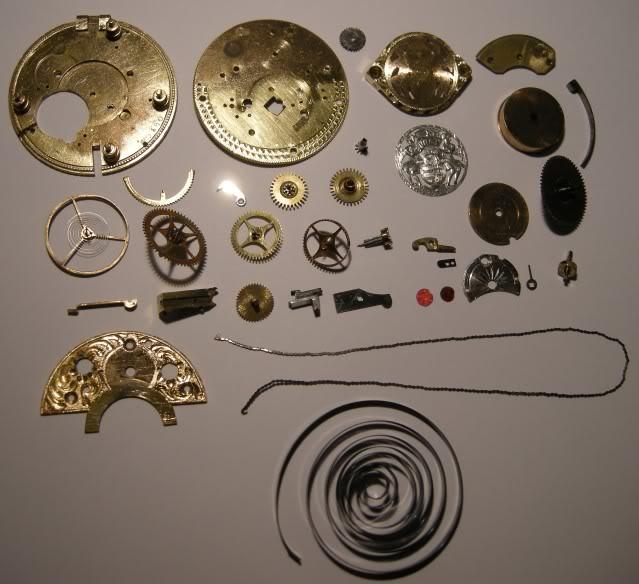 Restoration of an enameled verge pocket watch  DSCN0456-1