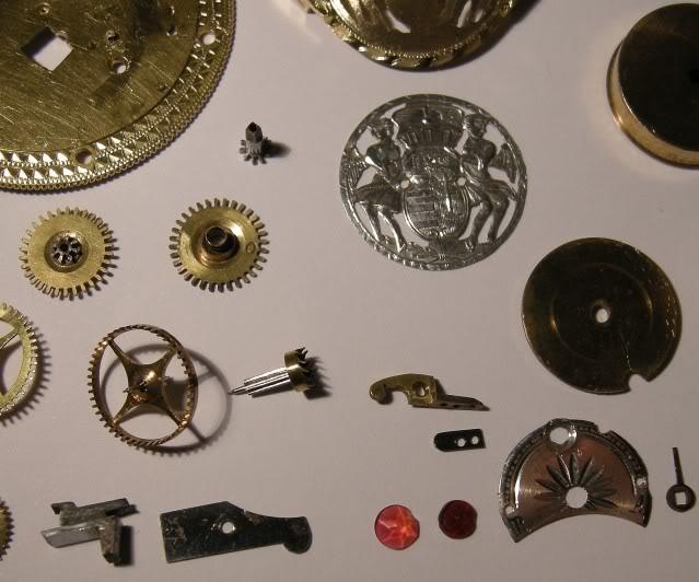 Restoration of an enameled verge pocket watch  DSCN0459-1