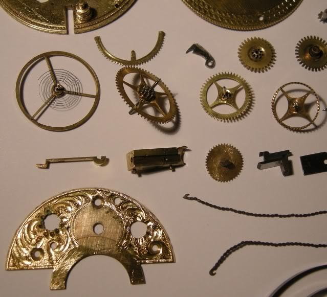 Restoration of an enameled verge pocket watch  DSCN0460-1