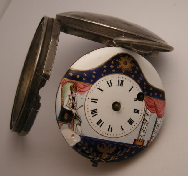 Restoration of an enameled verge pocket watch  DSCN0619-1