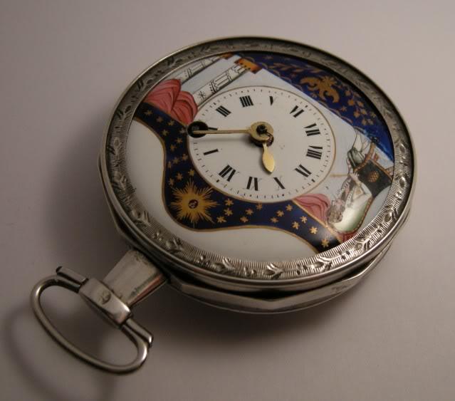 Restoration of an enameled verge pocket watch  DSCN1809-1