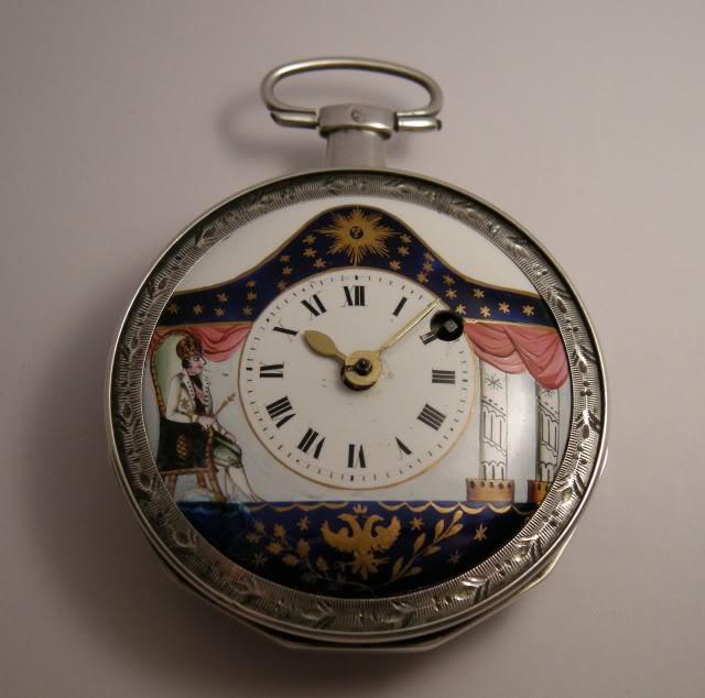 Restoration of an enameled verge pocket watch  DSCN1812-1