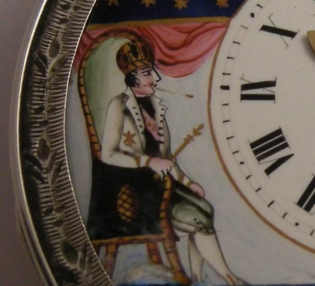 Restoration of an enameled verge pocket watch  DSCN1812-2