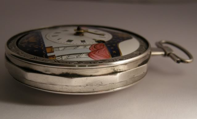 Restoration of an enameled verge pocket watch  DSCN1827-1