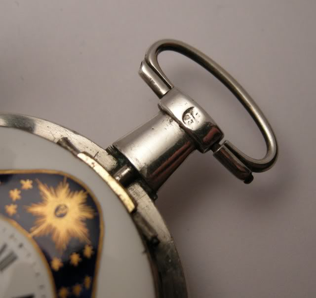 Restoration of an enameled verge pocket watch  DSCN1861-1