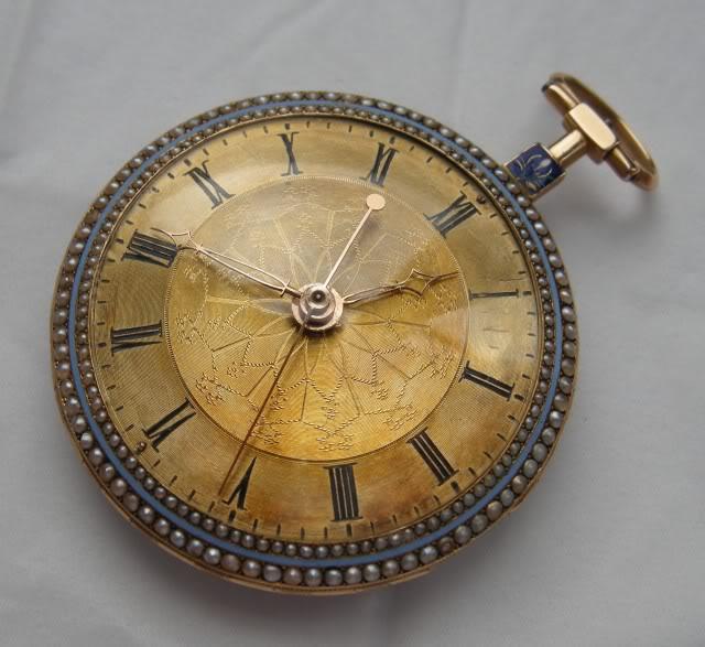 Une rare montre émaillée à seconde centrale DSCN9874-1-2