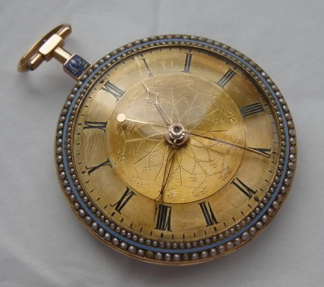 Une rare montre émaillée à seconde centrale DSCN9877-1-1