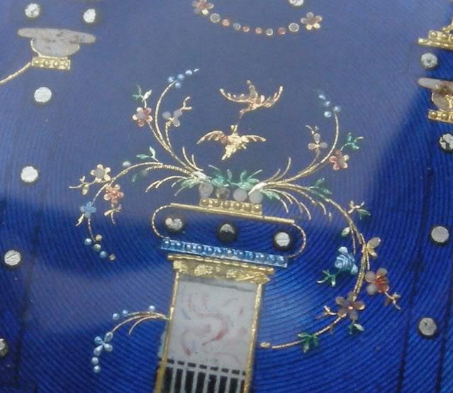 Une rare montre émaillée à seconde centrale DSCN9896-1-1
