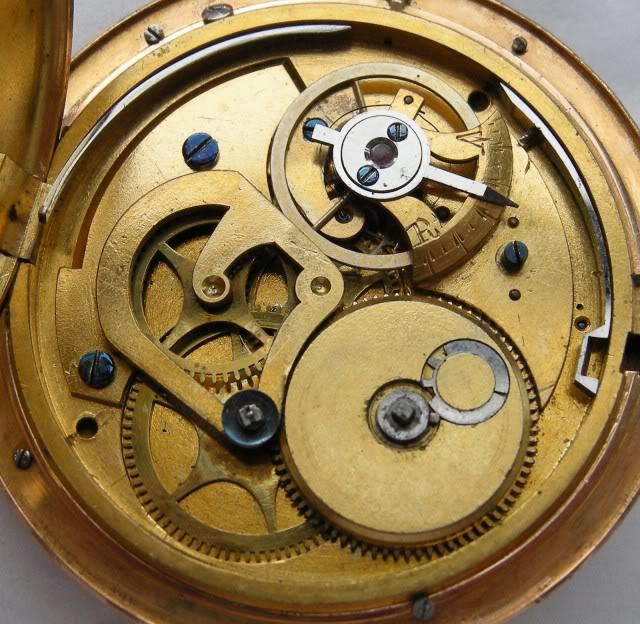 Une rare montre émaillée à seconde centrale DSCN9908-1-2