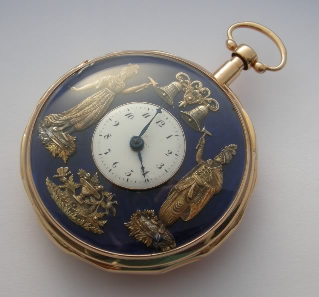 A beautiful automaton pocket watch with enameled dial DSCN9917-1-2