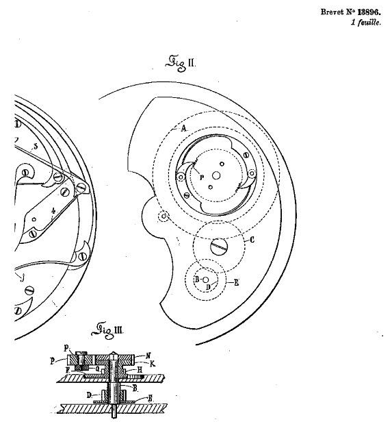 "A rare ""Grande Sonnerie"" pocket watch Brevet4"