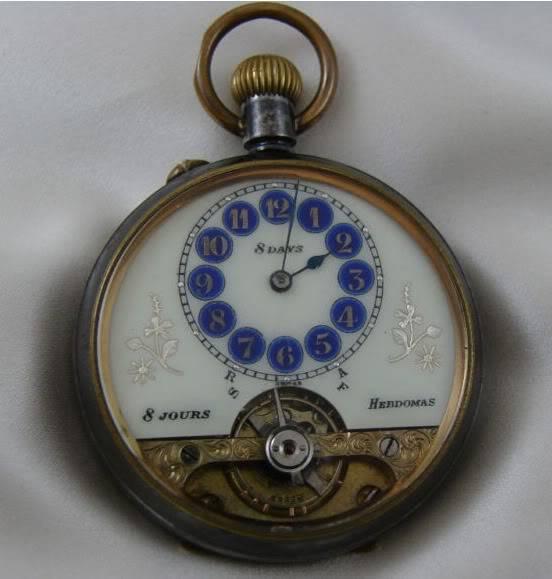 Premier achat de montre de gousset... - Page 3 Hebdomas