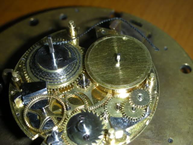 cloche - Restauration complète d'une montre à sonnerie sur cloche en images  Montage