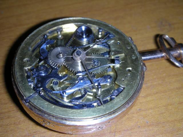 cloche - Restauration complète d'une montre à sonnerie sur cloche en images  Poseaiguillagesaprsajustage