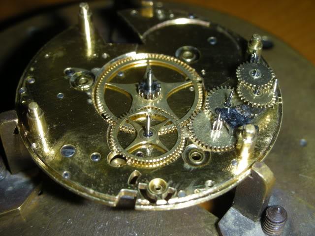 cloche - Restauration complète d'une montre à sonnerie sur cloche en images  Remontage