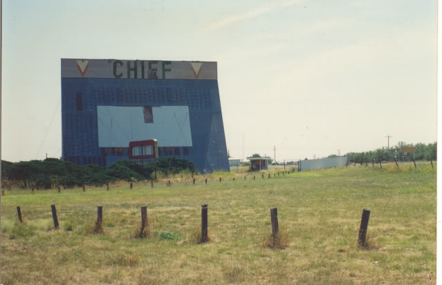 Nice Old Drive Ins Chiefdrive-inQuanahTX001
