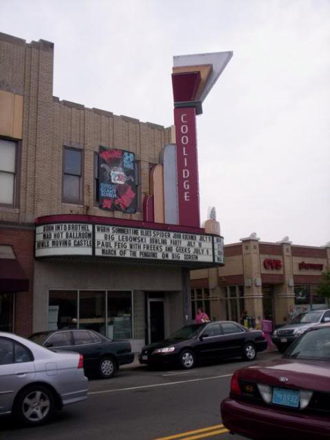 Coolidge Corner Theatre, Brookline, MA. L