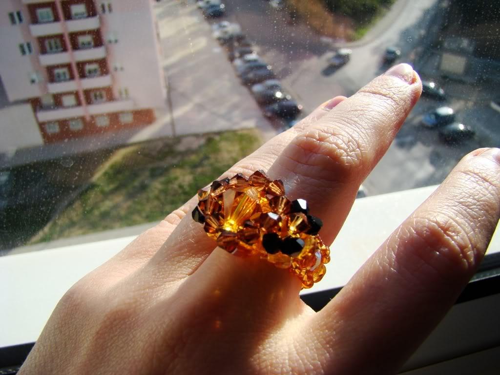 O 1º anel em swarovsky da Carlita DSC00467