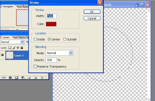Tạo con dấu bằng PhotoShop 6-1