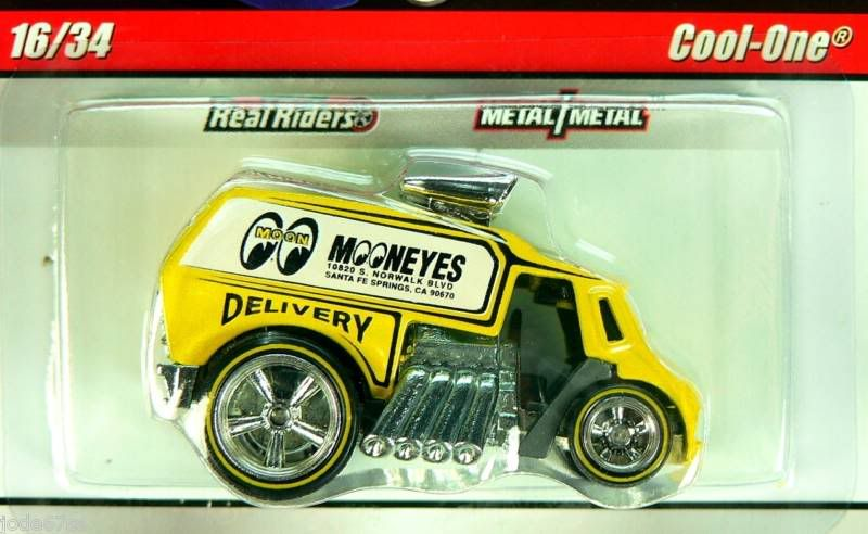 Hot Wheels Delivery Slick Rides D16
