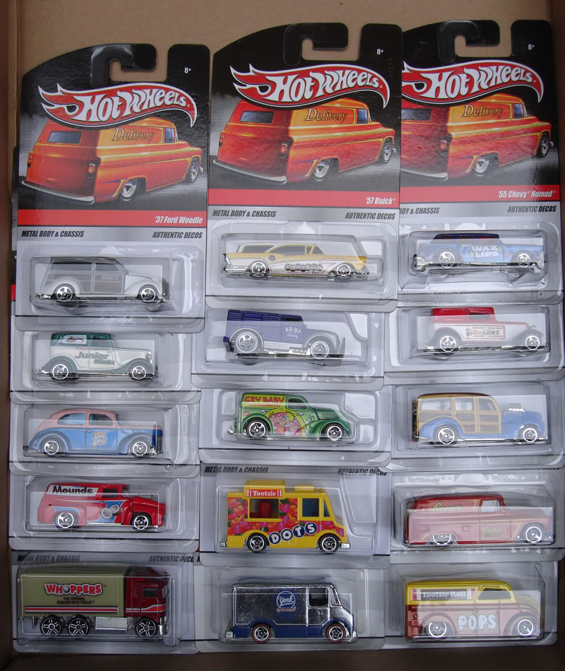 Hot Wheels Delivery (Sweet Rides) Sweetcompleta