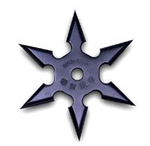 Aeon's Ninja Tools 6pointShuriken