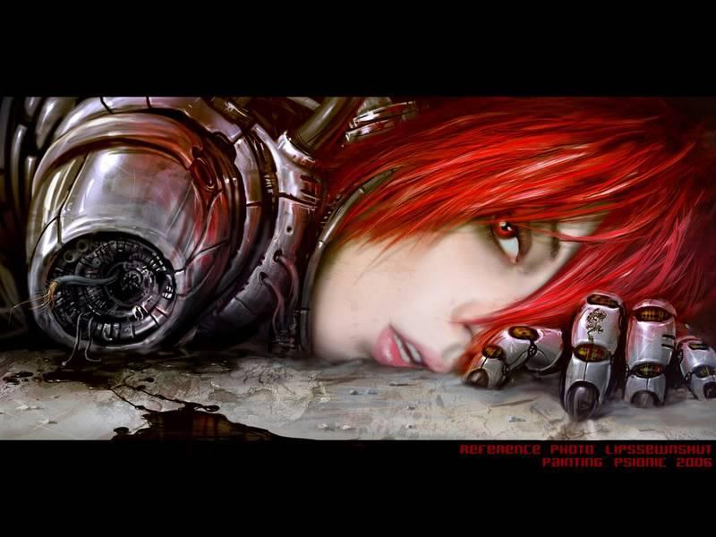 The Jinzou CyberGirl