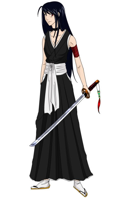 View a character sheet Shinigami