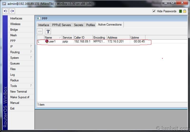 Sử dụng MIKROTIK RouterOS cho việc quản lý truy cập Internet Vpn_active_conneted