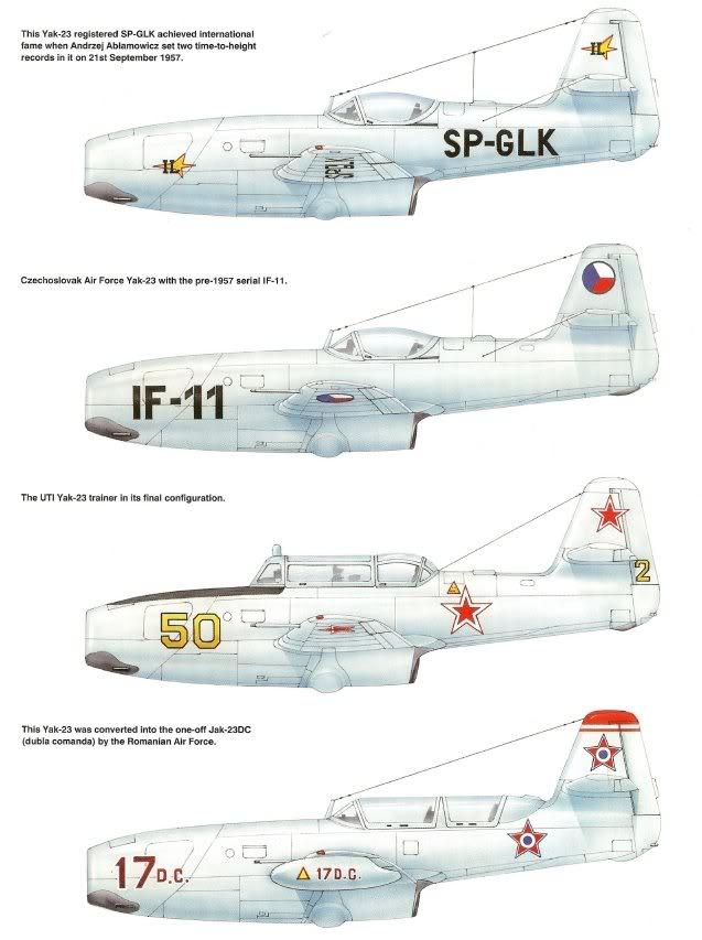 YAKOVLEV - avioni konstruktora Jakovljeva Svj5