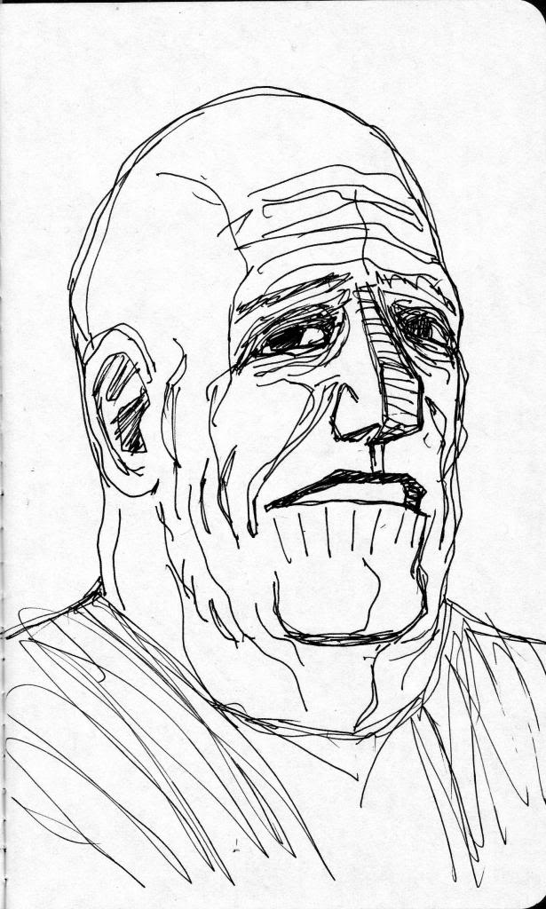 DAILY WARM-UP SKETCH 2013 - Page 8 BruceWillis002