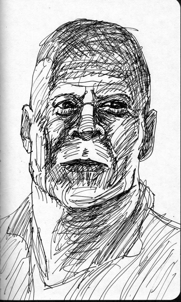 DAILY WARM-UP SKETCH 2013 - Page 8 BruceWillis003