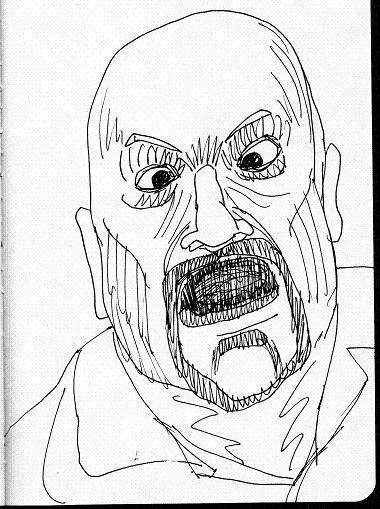 DAILY WARM-UP SKETCH 2013 - Page 8 TedKilvington004a