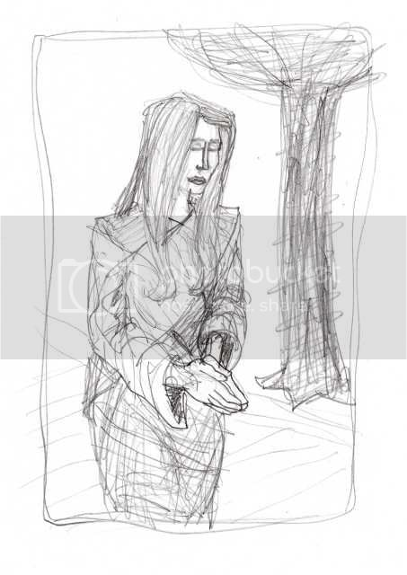 Non-Daily Sketch Lady003