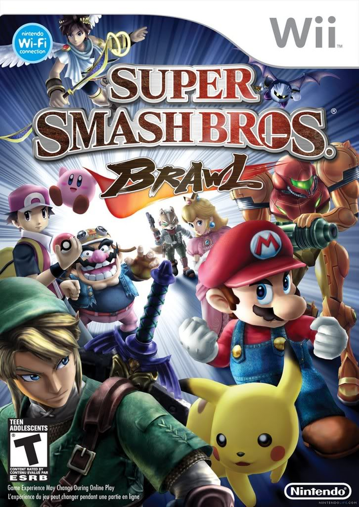 super smash bros brawl Cover_large