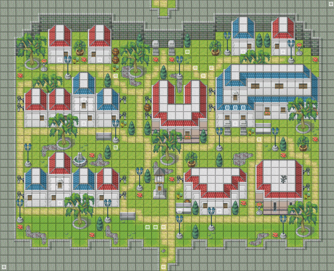 Memories of Gaia CityMap1