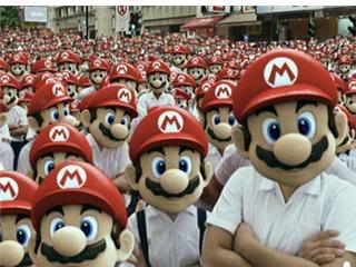 Galeria de los hombres Mario