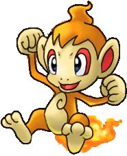 3-ви най-любими покемона Chimchar