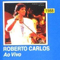 Roberto Carlos Discografia completa 1988-RobertoCarlosAoVivo