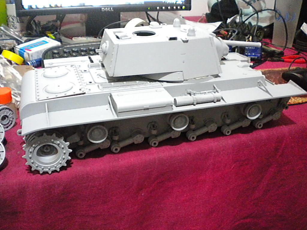 KV-1 1/16 by Tamiya (re-painting) DSCN1633