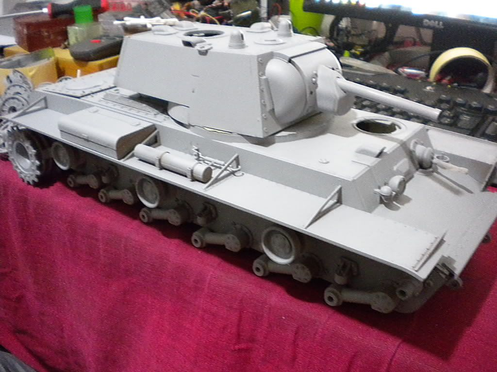 KV-1 1/16 by Tamiya (re-painting) DSCN1634